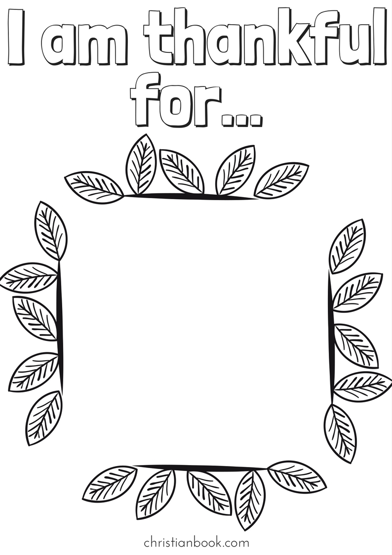 Thanksgiving Coloring Pages - For Kids! - Christianbook.com Blog