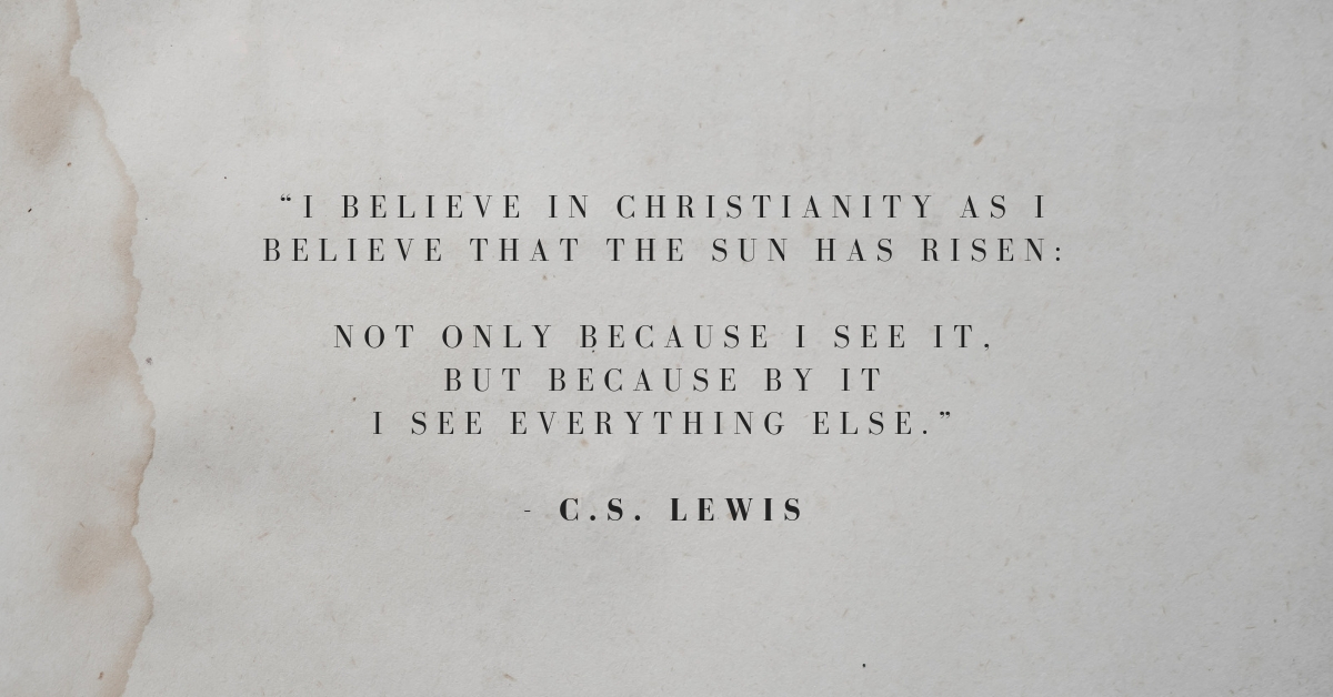 32 Inspiring C.S. Lewis Quotes on Faith & More