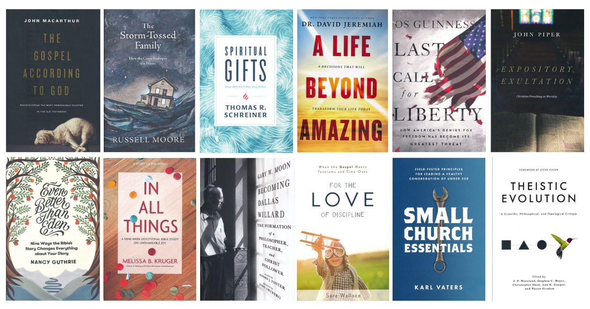 The 2019 Christian Book Award Finalists!